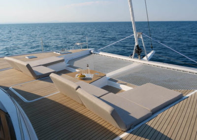 Catamaran Meho - Lounge deck 1