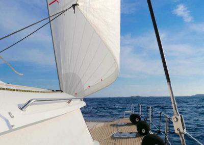 Catamaran Meho - Voiles 5