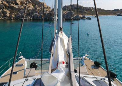 Catamaran Meho - Voiles bome